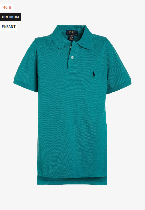 97ee927ec05ce5 Polo Ralph Lauren CUSTOM TOPS - Polo Couleur western turquoise