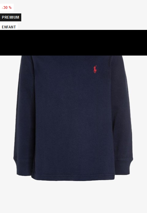 Polo Ralph Lauren BASIC - T-shirt à manches longues